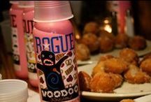 National Donut Day with ROGUE / oin us on Friday June 5th to celebrate National Donut Day with our friends from Rogue Ales ! James Jennings will be here giving out samples and talking about the delicious beer and our Chef Mark will be frying up yummy donut holes for all who attend! Some of the featured beers include Voodoo Bacon Maple Ale, Voodoo Chocolate Peanut Butter Banana Ale, Voodoo Lemon Chiffon Crueller Ale, and Voodoo Doughnut Pretzel Raspberry Chocolate Ale.