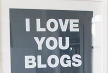blog love / blog love board