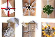 packaging / making pretty packages and wrap beautifully