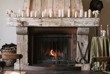 focolare - hearth / My love of fireplaces, gone digital.