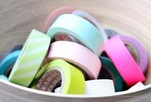 washi tape / ideas for washi tape