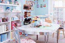My Craft Room Dreams & Organization Ideas / by Denise Gross