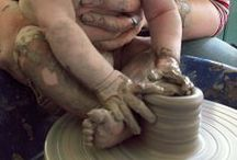 behind the ceramist wheel / by Maiolaine Gisella Poesy