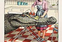"crocky-wock the crocodile / ""Grandpa feared the crocodile."""