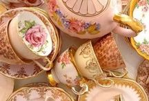 The China Cabinet / The china cabinet is where all the fragile items are stored.  We longingly look at them all year long only to bring them out on special occasions to use for one meal then back to the cabinet they go. China was not made to be looked at, it was made to be used.  China should be cherished but not delegated to shelf to collect dust until needed.  Enjoy your china dishes and teach your children to enjoy and care for it too.