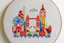 Embroidery and cross stitch / by Clare Freemantle