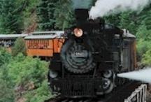 I love steam trains / by Donna Lynn Connors