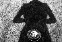 Self Portraits / Auto retrato self examination self reflection self portrait photography and painting / by Marika Francisco
