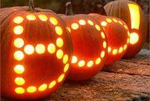 Fall Holidays / Halloween, Fall Decor and Thanksgiving