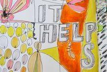 art therapy / by Megan O'Polka