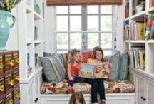 leggere - children reading corner / by Sara Stellegemelle