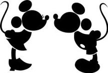 Disney Silhouette / Possible make these for Disney Scrapbook  / by Donna C