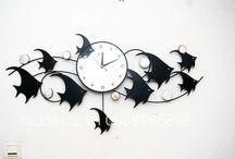 Đồng hồ nghệ thuật / Đồng hồ nghệ thuật, decor nhà. Sản phẩm cao cấp, chất liệu bằng kim loại và bảo hành dài.