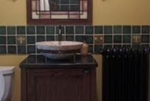 CRAFTSMAN Bathroom / Started this board to get ideas for my Craftsman inspired bathroom and the final pictures of what it looks like finished! / by Donna C