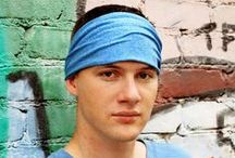 headbands for men & boys / Looking for a headband that fits?  One that doesn't pinch, bind or slip?  Look no further.  Randomly Specific men's headbands are made in four sizes, certain to fit any size head. Visit www.etsy.com/shop/RandomlySpecific for a full selection.