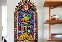 The Legend of Zelda / Plongez au coeur de l'univers de Zelda, l'un des plus célèbres jeux vidéo débarque sur vos murs!