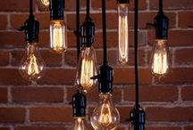 Antique & Vintage Lighting / Nostalgic, Old-World, Vintage, Antique, or Edison bulbs ... Whatever you call them, these contemporary throwbacks to the first light bulbs add style to many modern-day fixtures. / by Pegasus Lighting