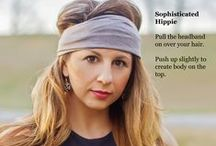 headband hairstyles / Love the look but not sure how to wear a headband?  Specifically Random has several styles for all the latest looks. Find these styles and more at www.etsy.com/shop/SpecificallyRandom.