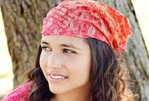 """15"""" extra wide headbands / An extra wide headband with the perfect fit. Measuring 15 inches from front to back, they are extremely versatile. Worn wide open, they will easily cover your entire head, or they can be folded or bunched up to wear as a more traditional headband. Perfect for covering hair loss or a bad hair day!  Shop all of my women's headbands at www.etsy.com/shop/SpecificallyRandom or my girl's selection at www.etsy.com/shop/SpecificallyRandom2."""