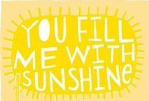 ☼mellow☼ yellow ☼ / by ℂlaire Winchester