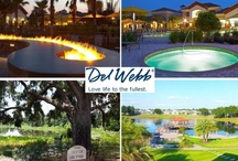 """Love Your Life! / At Del Webb, we encourage you to """"Love Your Life to the Fullest,"""" by being active, making friends, and reaching goals you never thought you could! Del Webb provides amenities that will keep you busy all day long!"""