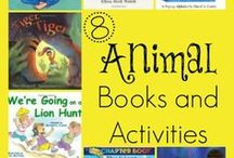 Animal Preschool Books /  What kid doesn't like animals? This board is dedicated to animal books for preschoolers. www.thecoveschool.com.