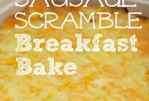 Rise and Shine / Breakfast foods