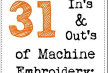 Embroidery Machine and Designs