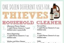 Oils for Cleaning / by Emily Ayers