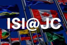International Student Institute @ Jackson College / Representing a love of learning and wanderlust. The International Student Institute at Jackson College provides travel abroad as well as exchange student educational opportunities.  More info at http://www.jccmi.edu/futurestudents/international/