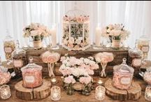 Candy Buffets / Shockingly impressive candy buffets that guests couldn't stop talking about for Weddings, Showers & Parties