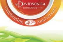 Davidson's Organics 40th Anniversary / In 2016 we are celebrating our 40th Anniversary, and we want you to join us! Visit davidsonstea.com/40th-Anniversary-Celebration to learn more.