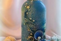 Art-Mixed Media Vases