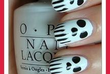 Nail Designs / I'm not exactly the greatest at doing my nails, but hopefully with practice I will be able to try some of these designs :) / by Ashley Hohnstein