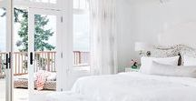 Master Bedroom Inspiration / Romantic, boho, and bright master bedroom ideas.