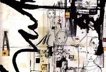 art journals/scrapbooks