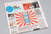 DESIGN : newspaper / by Crystian Cruz