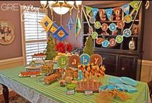 Henry's First Birthday / Food and decoration ideas
