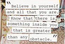 Words of Wisdom / by Jenna Ballmer