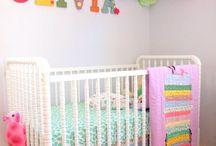 A place for baby / Nursery ideas and design.  / by Nikki Winn-Oertel