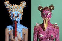 Masks and Cardboard Heads / by Sun Sun