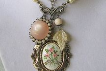 jewelry ~ redesigned / jewelry redesigns from antique, vintage & found objects / by jan lefevre