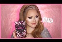 NikkieTutorials The Power of Makeup / Too Faced has teamed up with global beauty megastar NikkieTutorials to create this limited edition collection to celebrate the transformative power of makeup. Nikkie is the ultimate Too Faced girl who is makeup OBSESSED and believes in its ability to inspire confidence and change the world (just like us!). Her exclusive collection features everything you need to create endless looks, including 9 all new eye shadows and a deluxe Better Than Sex Mascara in a can't-get-anywhere-else PURPLE shade.