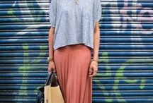 maxi skirts / by Miriam Tribe