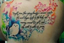Tattoos =) & piercings / by Sabrina Heischman