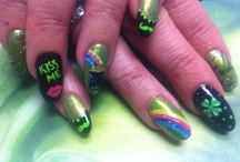 My Work....All Day....Every Day! / Nail Designs Created and Developed by Creations by Anna Z-James, Manicurist (Artist) / by Anna James