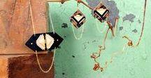 ∙ Oldies Fosseth #1 ∙ / ∙ Collections Fosseth de 2012 à 2014 ∙ Bijoux graphiques en cuir faits main avec soin à Paris