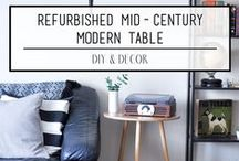 DIY / Modern and stylish projects to make your home your own!