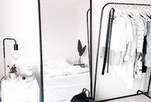 DRESSING ROOM / Dressing room inspiration board by StyleRarebit.com
