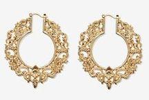 EARRINGS / Jewellery inspiration board by StyleRarebit.com